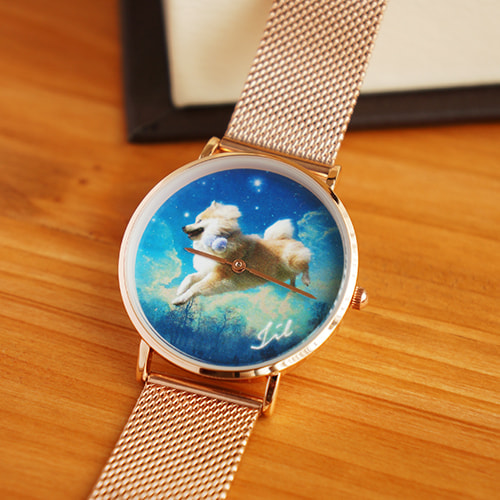 時計の盤面のデザイン