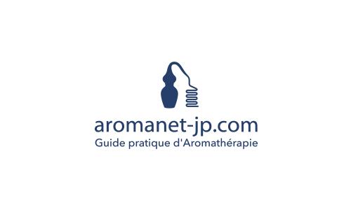 ロゴ(アロマネットJP)