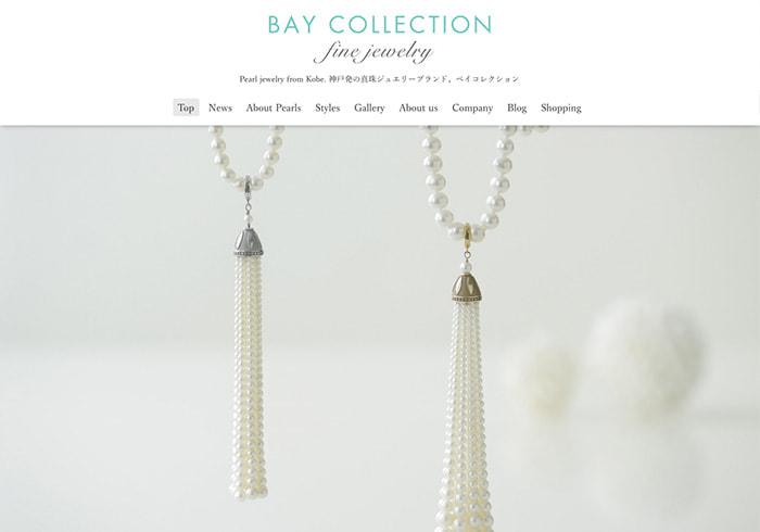 Webサイト(BAY COLLECTIONさま)